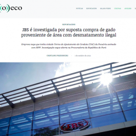 JBS and Public Prosecutor's Office in the press: understand the case and the way forward